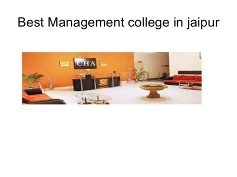 Top 10 Mba Colleges In Jaipur by Cha Jaipur