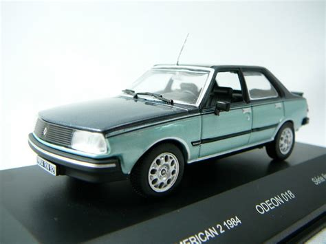 renault america miniature renault 2 1984 odeon