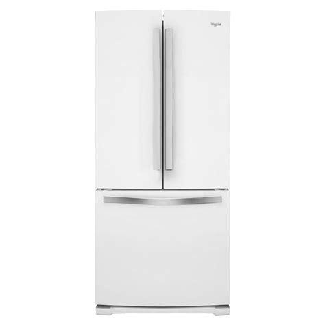 Door Refrigerator White by Whirlpool 19 7 Cu Ft Door Refrigerator In White