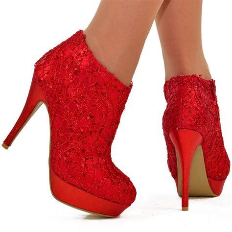 womens size uk 5 sequin sparkly platform high heel
