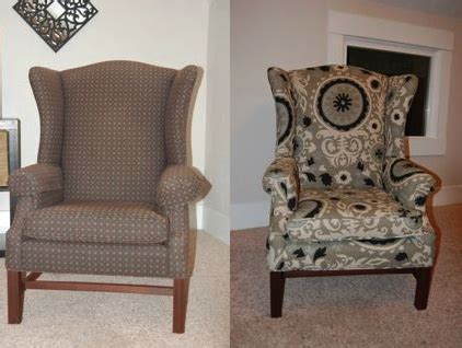 reupholster armchair how to reupholster a wingback chair diy project aholic