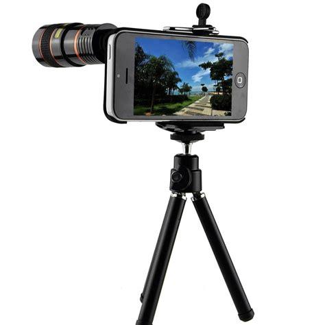Tellezoom 8x Universal Plus Tripod Plus Holder All Smartphone iphone 5c lens kit including 8x telephoto lens fisheye lens macro lens