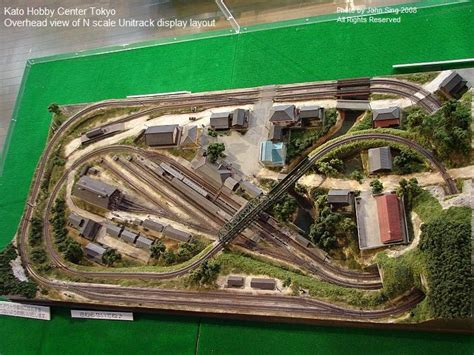 layout n scale train tokyo n scale layout model railroad scenery pinterest