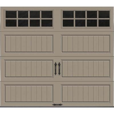 8 Foot Garage Door by Clopay Gallery Collection 8 Ft X 7 Ft 18 4 R Value