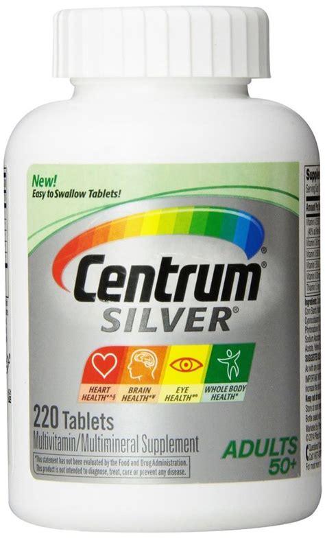 Centrum Silver 50 285 Tablet Usa centrum silver 50 multivitamin multimineral