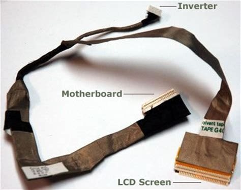 Notebook Lcd Cable For no backlight even after inverter swapped and lcd tested externally laptops laptop general