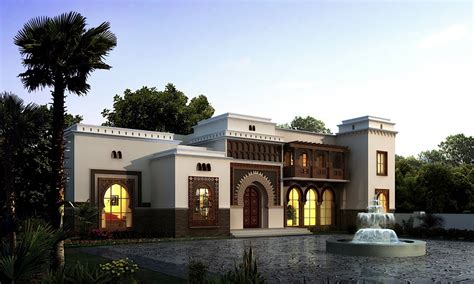 home design arabic style arabic style villa section 02 by dheeraj mohan at coroflot com