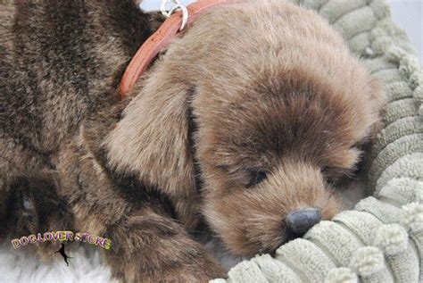 lifelike puppy chocolate lab petzzz like stuffed animal breathing