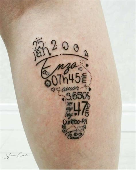 weight tattoo best 25 baby name tattoos ideas on