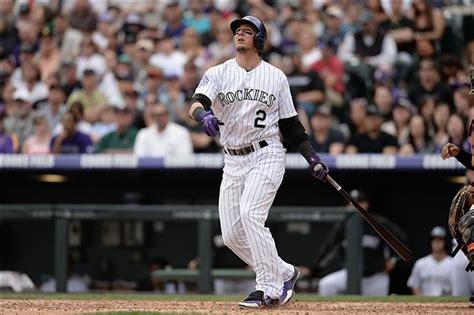 troy tulowitzki swing troy tulowitzki takes batting practice for first time