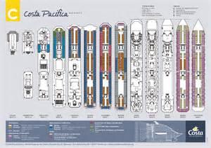 costa pacifica deck plan costa pacifica auf schiffs urlaub de