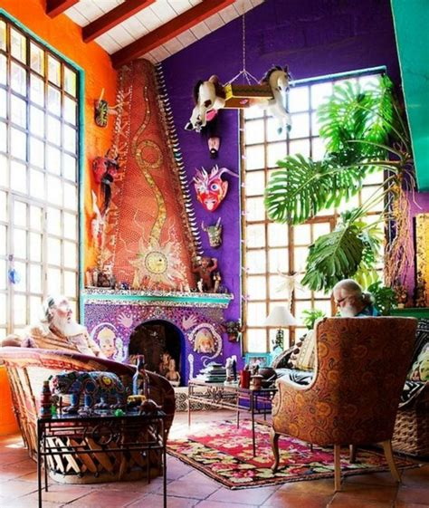 30 colorful bohemian living room ideas for inspiration