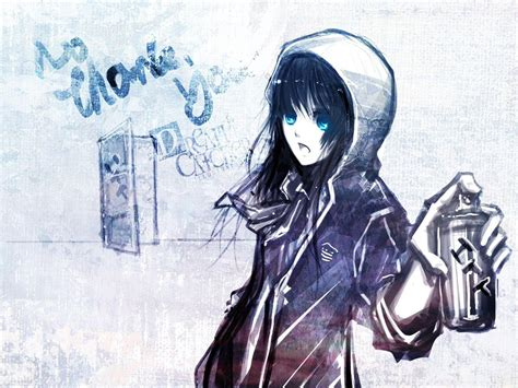 awesome anime girl wallpaper emo anime wallpapers wallpaper cave