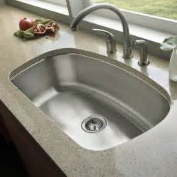 Undermounted Kitchen Sink 32 Inch Stainless Steel Undermount Curved Single Bowl