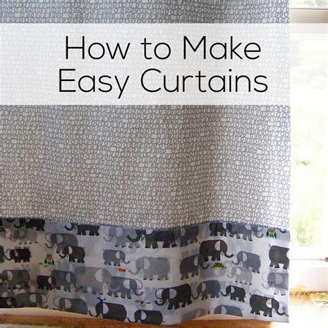 how to make easy curtains how to make easy curtains shiny happy world