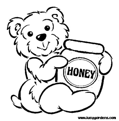 honey bear coloring pages honey bear coloring pages graffiti tutorial