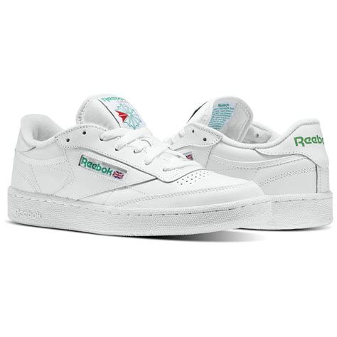 Reebok Clasic Size 39 43 Sepatu Cowok Sneakers Cowok Sepatu Lari 1 reebok club c 85 white reebok mlt
