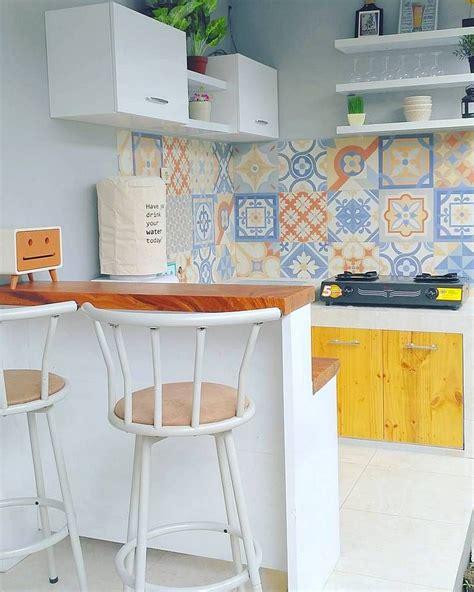 desain dapur minimalis ukuran 3x2 desain dapur minimalis dengan model keramik dinding dapur