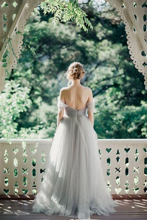 10 Grey Wedding Dress Ideas   Wedding, Tulle wedding