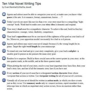 Novel Essay Ideas by Ten Vital Novel Writing Tips Become Empowered