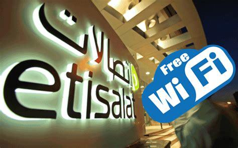 emirates wifi promo code free wifi in dubai for eid al adha 2017 by etisalat tech