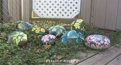 Painting Rocks For Garden Pretty Garden Decoration Painted Rocks Pinterest