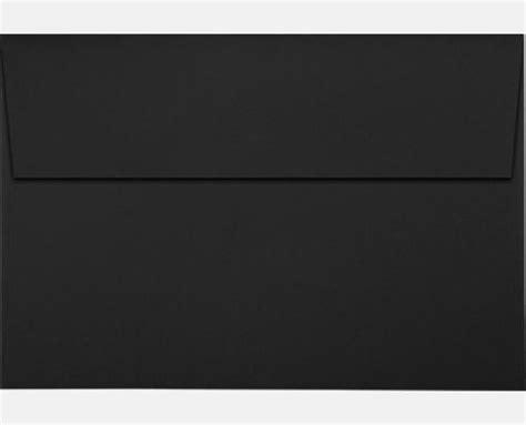 Square A8 midnight black a8 envelopes square flap 5 1 2 x 8 1 8