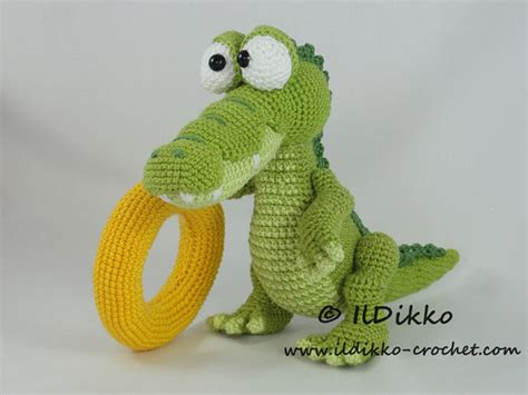 crocodile pattern en français amigurumi crochet pattern conrad the crocodile