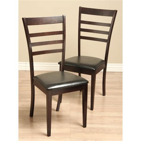 Leather Dining Room Set Leather Dining Room Chairs Set Of 2 11552315 Overstock Shopping Great Deals