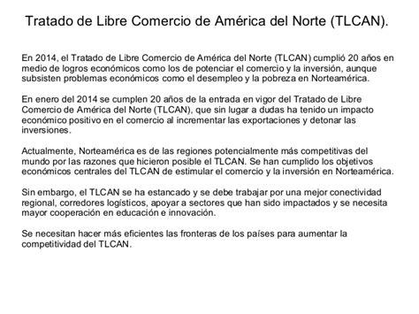 el tlcan y las cadenas globales de valor el tratado de libre comercio tlcan de m 233 xico con estados