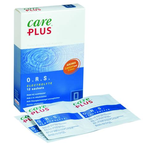 Care Plus Home Care by Care Plus Ors Electrolytes Rehydration Salt Sachets