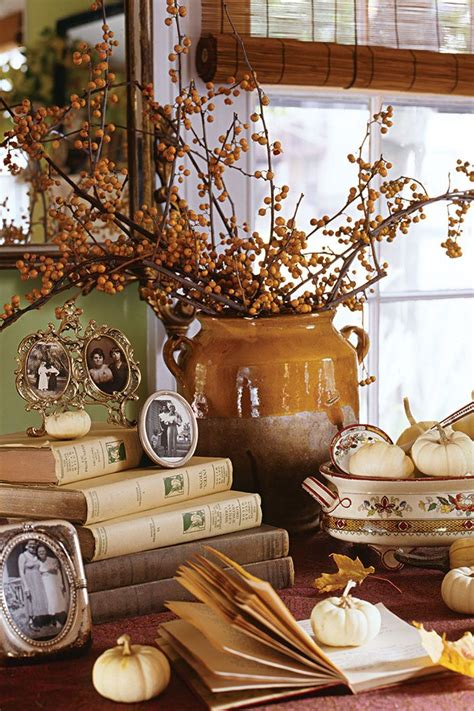 autumn decorations home autumn inspired home decor twice loved best of vintage
