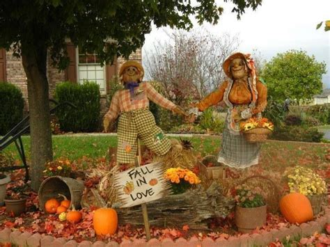 pinterest fall decorations   fall outdoor