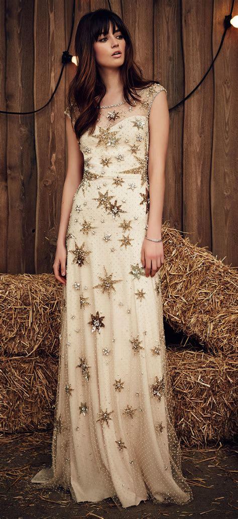 gold wedding dresses chwv