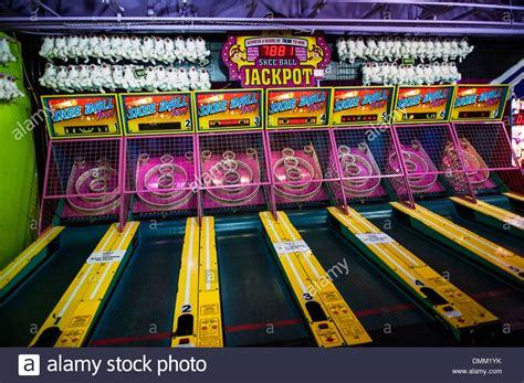 skee ball skee ball arcade game stock photo 64364823 alamy