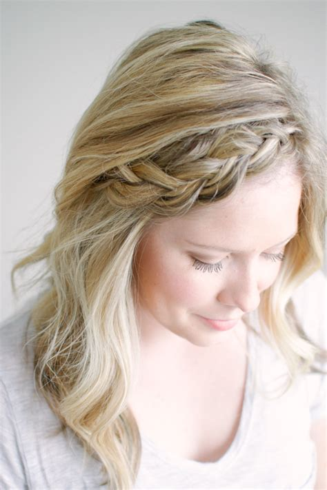free fall braids how to soften and stretch braids and fishtails