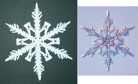snowflake patterns real diy how to make 6 pointed paper snowflakes 11