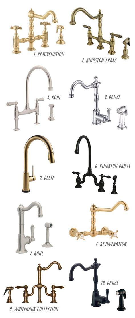 farmhouse kitchen faucet 25 best ideas about kitchen sink faucets on