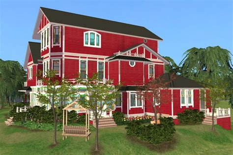 House Plans With 5 Bedrooms mod the sims halliwell manor