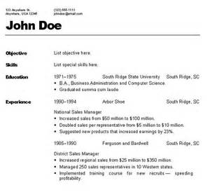 93 captivating sample resume formats examples of resumes first