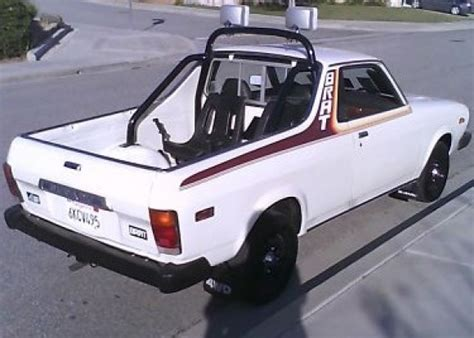 subaru truck with seats in bed 1980 subaru brat bring a trailer