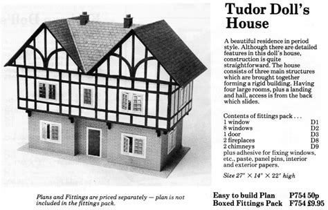 hobbies dolls house free tudor dolls house plans numberedtype