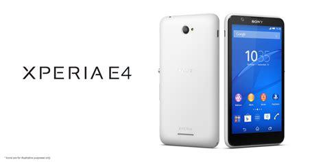 Hp Sony Android E4 sony anuncia seu novo smartphone android o xperia e4