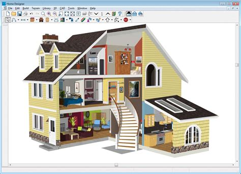 free house designing software home designer architectural