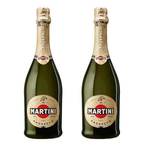 martini prosecco martini prosecco doc nv 75cl duo gift set