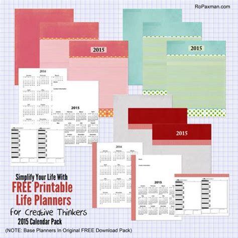 printable life planner 2015 17 best images about organization planning book ideas on