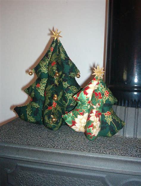 manualidades navide 241 as 193 rbol de navidad de tela la