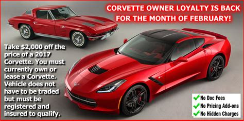 best corvette limited time offer best corvette pricing in the country