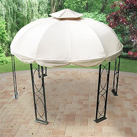 12 Ft Round Gazebo Replacement Canopy Gazebos Patio Patio Furniture Gazebo