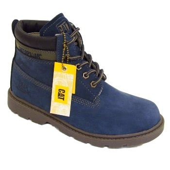 womens caterpillar cat midnight blue colorado plus nubuck